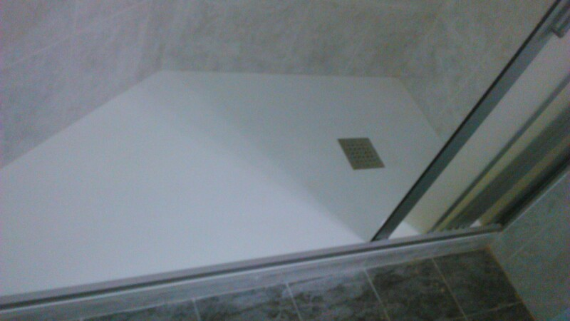 Sustitucion plato de ducha